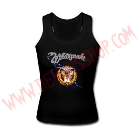 Camiseta Chica SM Whitesnake
