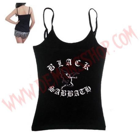Camiseta Chica Tirantes Black Sabbath