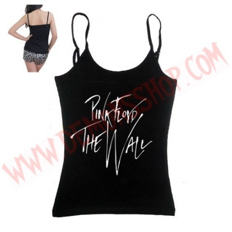 Camiseta Chica Tirantes Pink Floyd