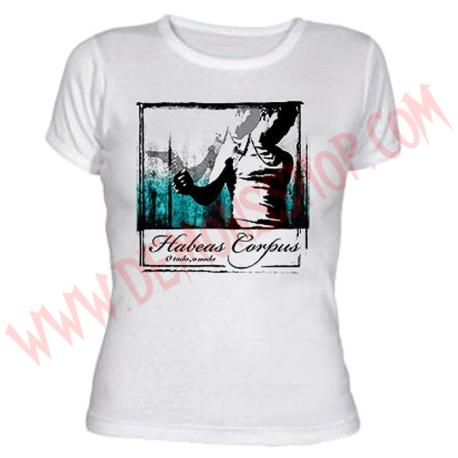 Camiseta Chica MC Habeas Corpus