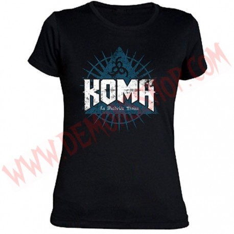 Camiseta Chica MC Koma
