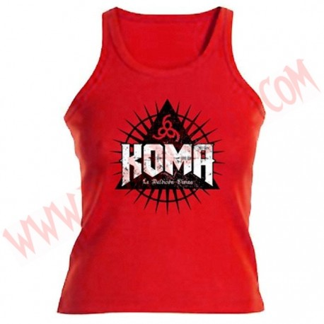 Camiseta Chica Tirantes Koma