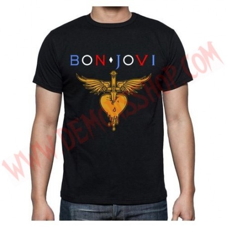 Camiseta MC Bon Jovi