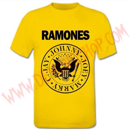 Camiseta MC Ramones Amarilla