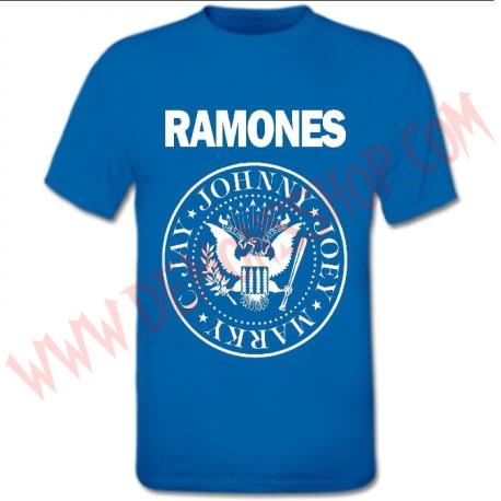 Camiseta MC Ramones Azul