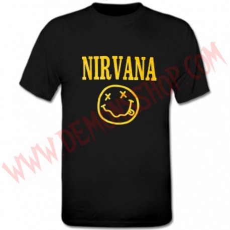 Camiseta MC Nirvana