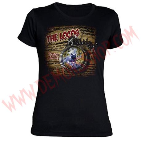 Camiseta Chica MC The Locos
