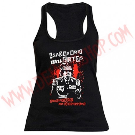 Camiseta Chica Tirantes Lendakaris Muertos