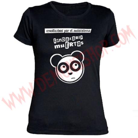 Camiseta Chica MC Lendakaris Muertos