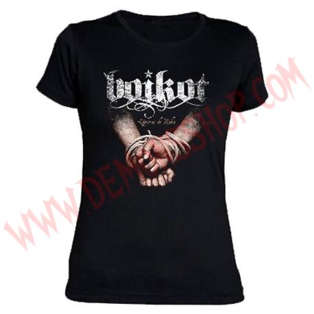 Camiseta Chica MC Boikot