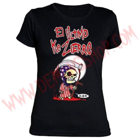 Camiseta Chica MC El Ultimo Ke Zierre