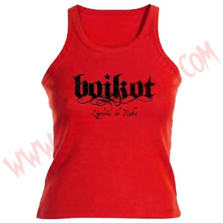 Camiseta Chica Tirantes Boikot