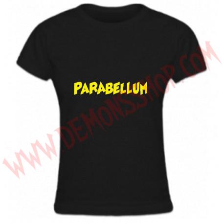Camiseta Chica MC Parabellum