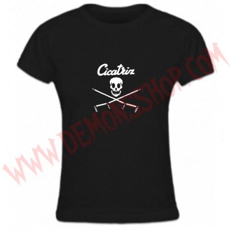 Camiseta Chica MC Cicatriz