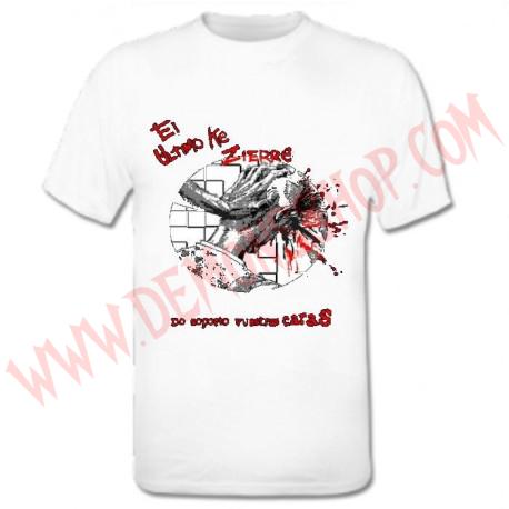 Camiseta MC El Ultimo Ke Zierre (Blanca)