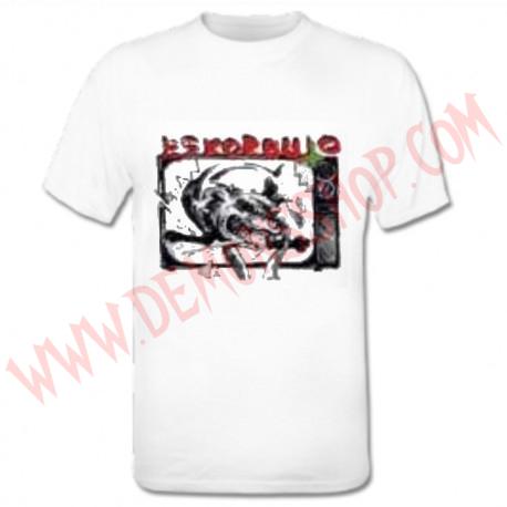 Camiseta MC Eskorbuto Blanca