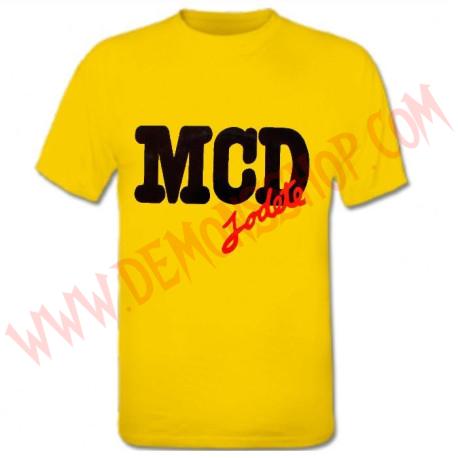 Camiseta MC MCD (Amarilla)