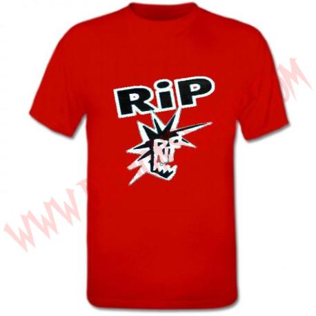 Camiseta MC RIP (Roja)