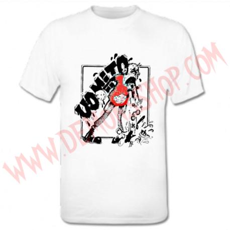Camiseta MC Vomito (Blanca)