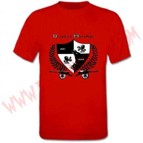 Camiseta MC Dropkick Murphys (Roja)