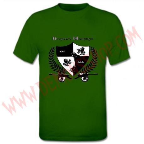Camiseta MC Dropkick Murphys (Verde)