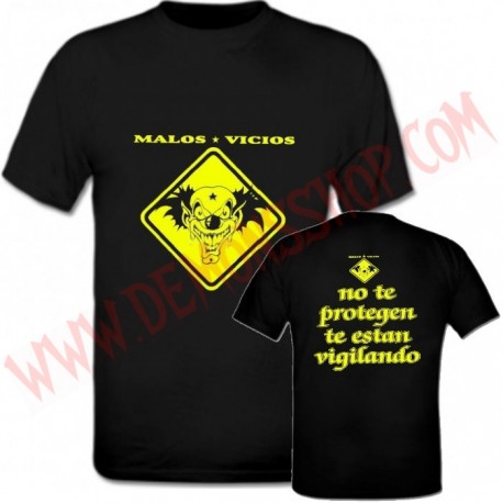 Camiseta MC Malos Vicios