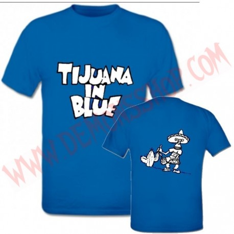 Camiseta MC Tijuana In Blue (Azul)