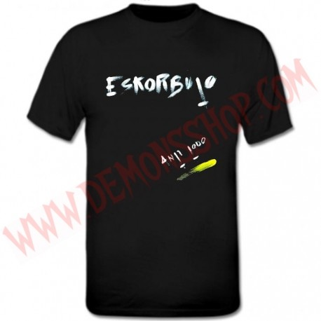 Camiseta MC Eskorbuto