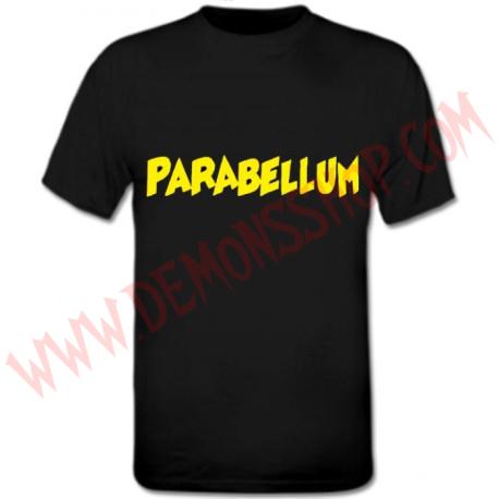 Camiseta MC Parabellum Amarilla
