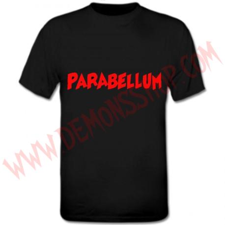 Camiseta MC Parabellum Roja