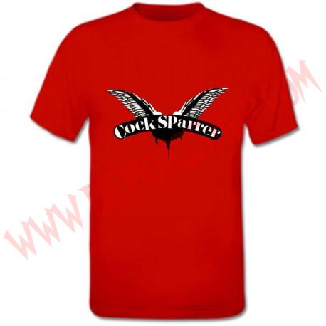 Camiseta MC Cock Sparrer (Roja)