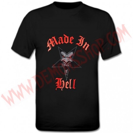 Camiseta MC Made in Hell