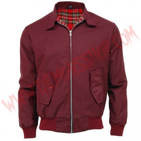 Chaqueta Harrington Burgundy