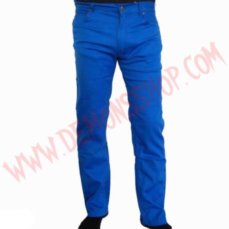 Pantalon Elastico Liso Azul Navy
