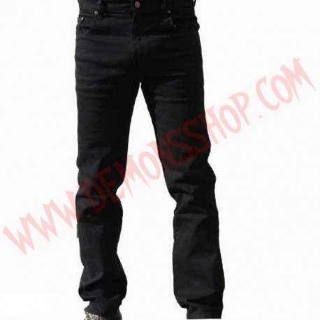 Pantalon Elastico Liso Negro