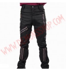 Pantalon Punk Zip Negro