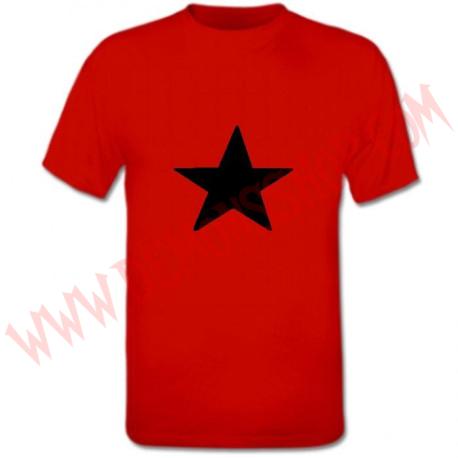 Camiseta MC Estrella Negra (Roja)