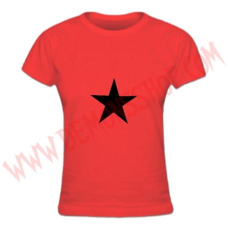Camiseta Chica MC Estrella Negra