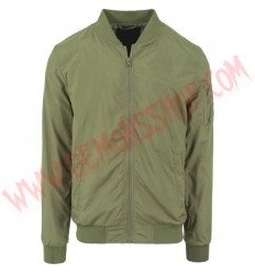 Chaqueta Bomber Light Verde