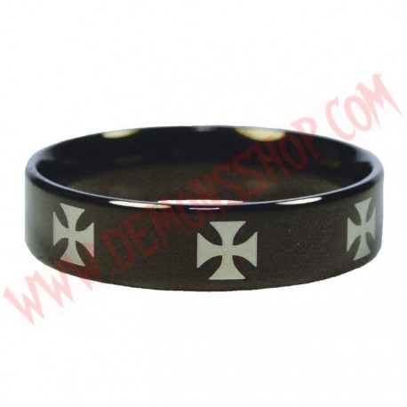 Anillo Black Iron Cross