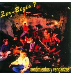 CD Zer bizio - sentimientos y venganza
