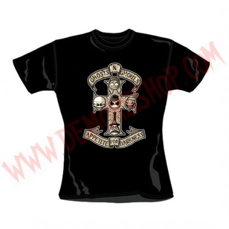 Camiseta Chica MC Pesadilla Antes de Navidad