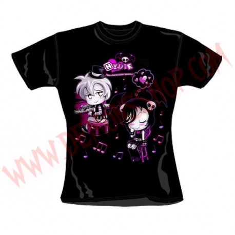Camiseta Chica MC Hydie Piano