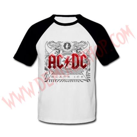 Camiseta Raglan MC Ac Dc