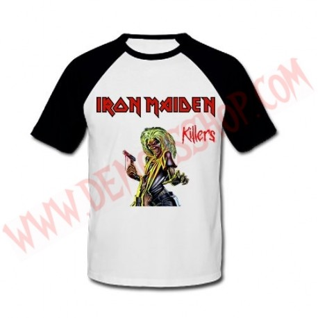 Camiseta Raglan MC Iron Maiden