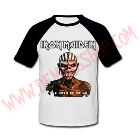 Camiseta Raglan MC Iron Maiden
