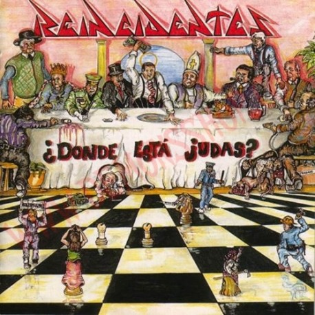 Vinilo LP Reincidentes - ¿Donde esta Judas?