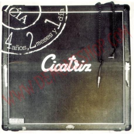CD Cicatriz - 4 años 2 meses y 1 dia