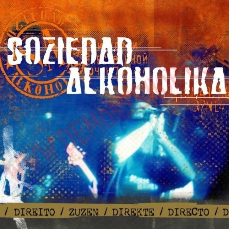 CD Soziedad Alkoholika - Directo