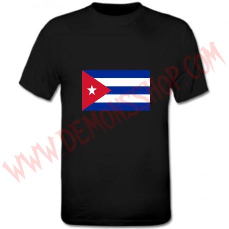 Camiseta MC Bandera Cuba